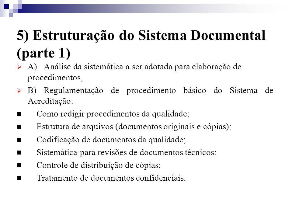 5) Estruturação do Sistema Documental (parte 1)