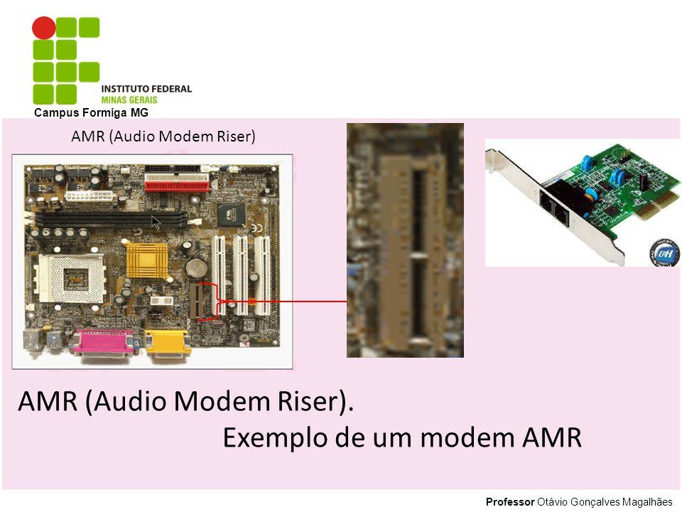 AMR (Audio Modem Riser). Exemplo de um modem AMR