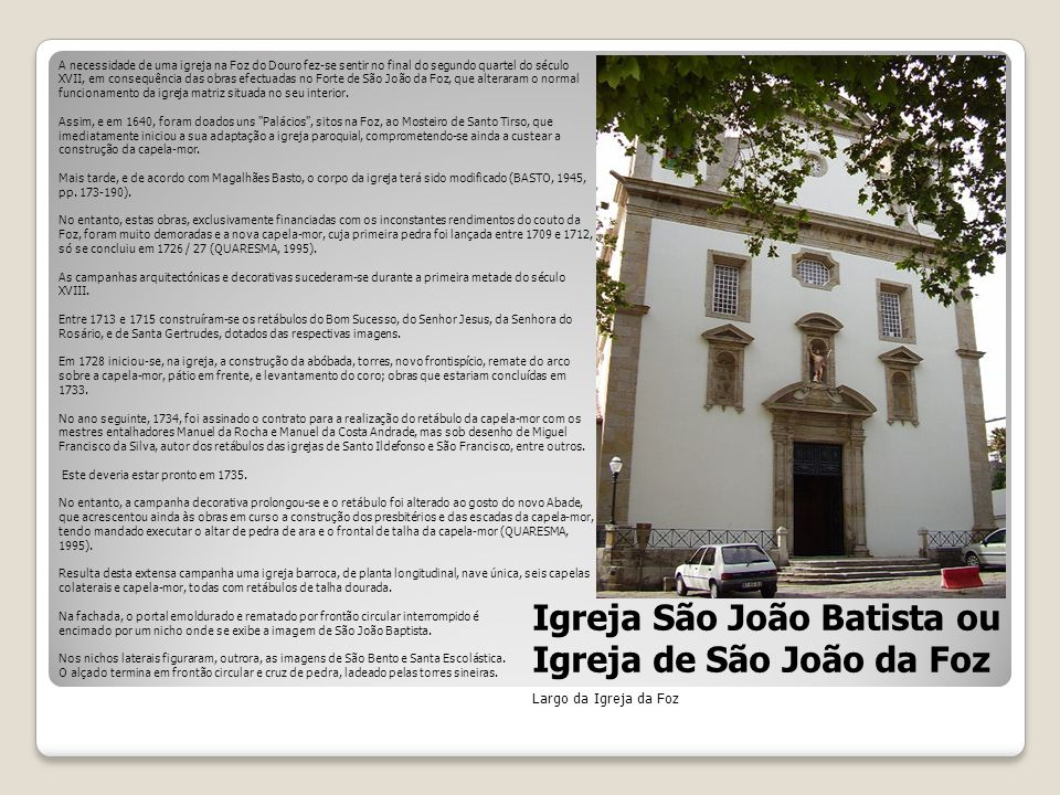 Igreja de S. João Baptista