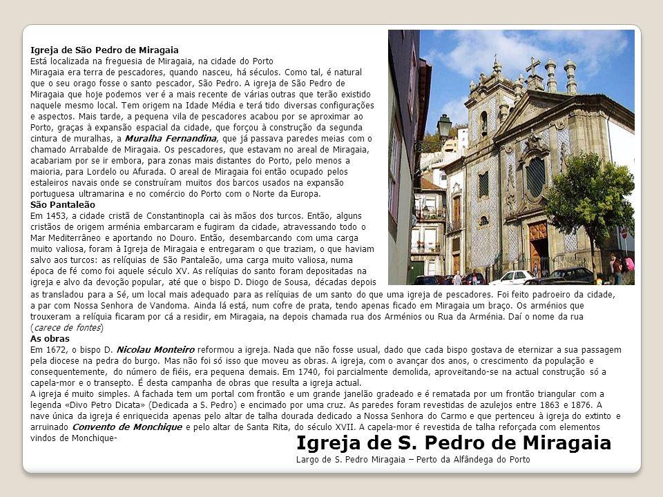 Igreja de S. Pedro de Miragaia