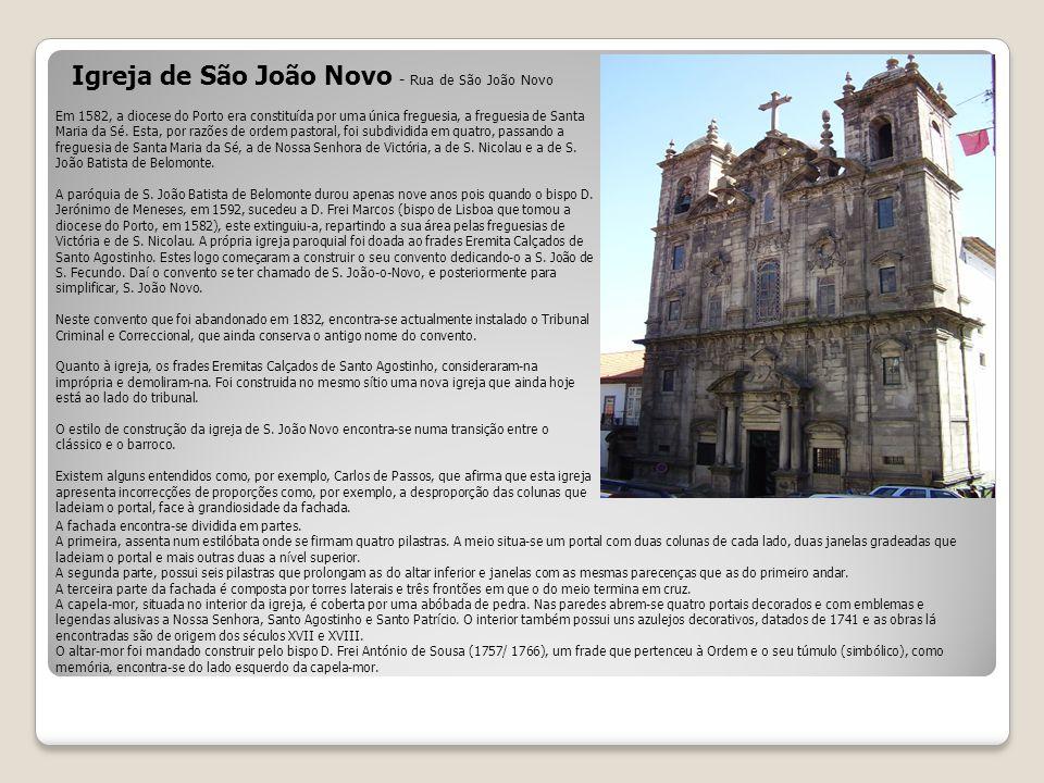 Igreja de São João Novo - Rua de São João Novo