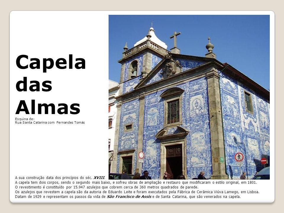 Capela das Almas A sua construção data dos princípios do séc. XVIII.