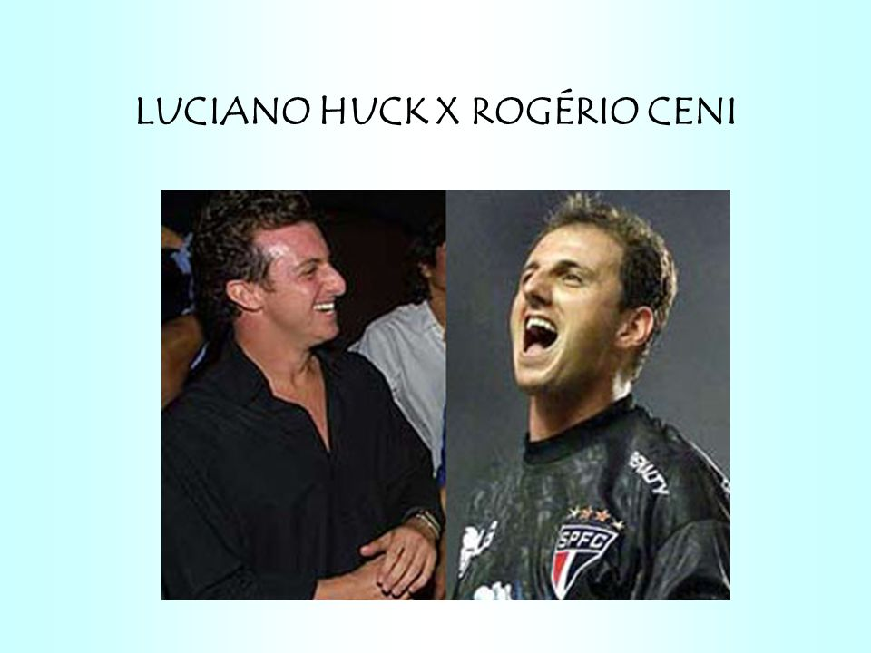 LUCIANO HUCK X ROGÉRIO CENI