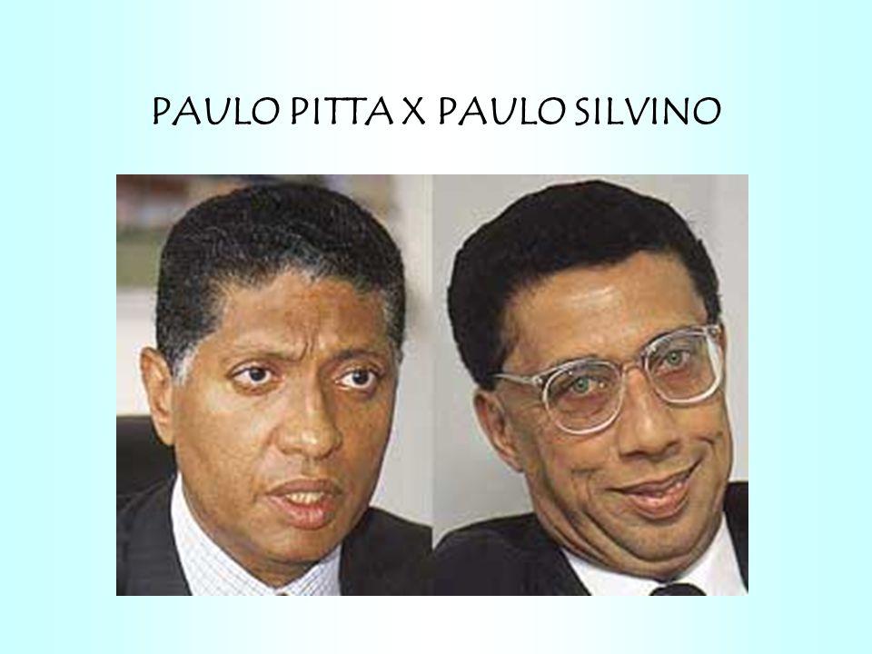 PAULO PITTA X PAULO SILVINO