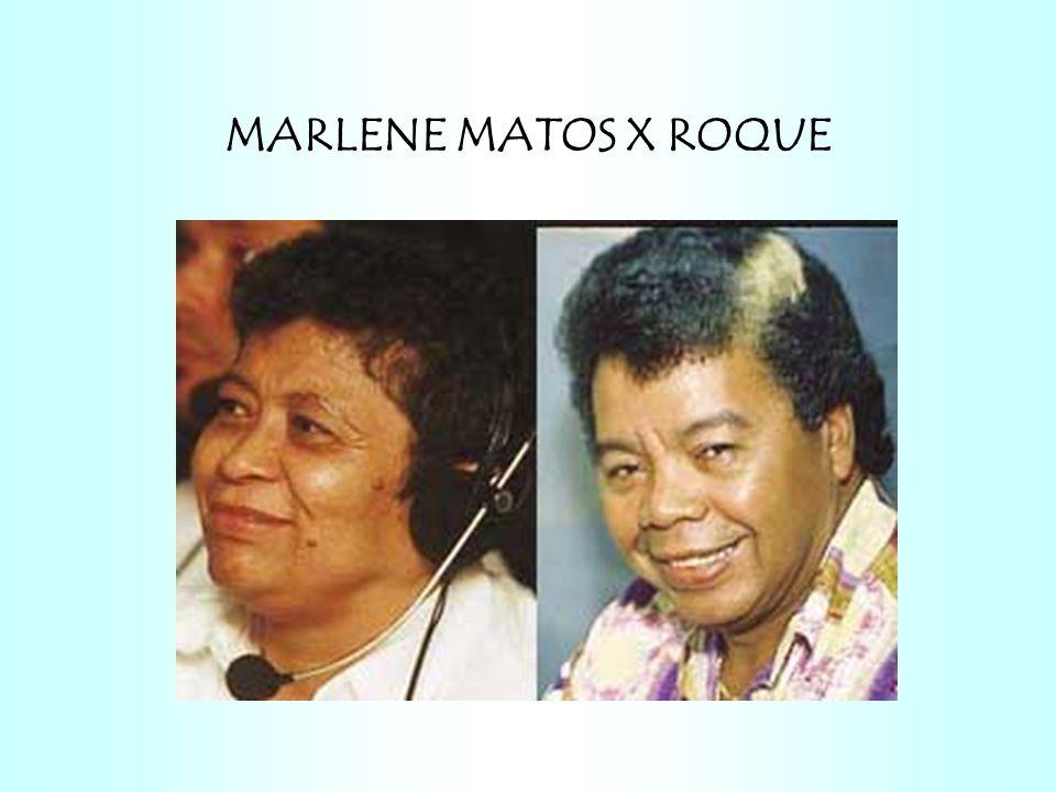 MARLENE MATOS X ROQUE