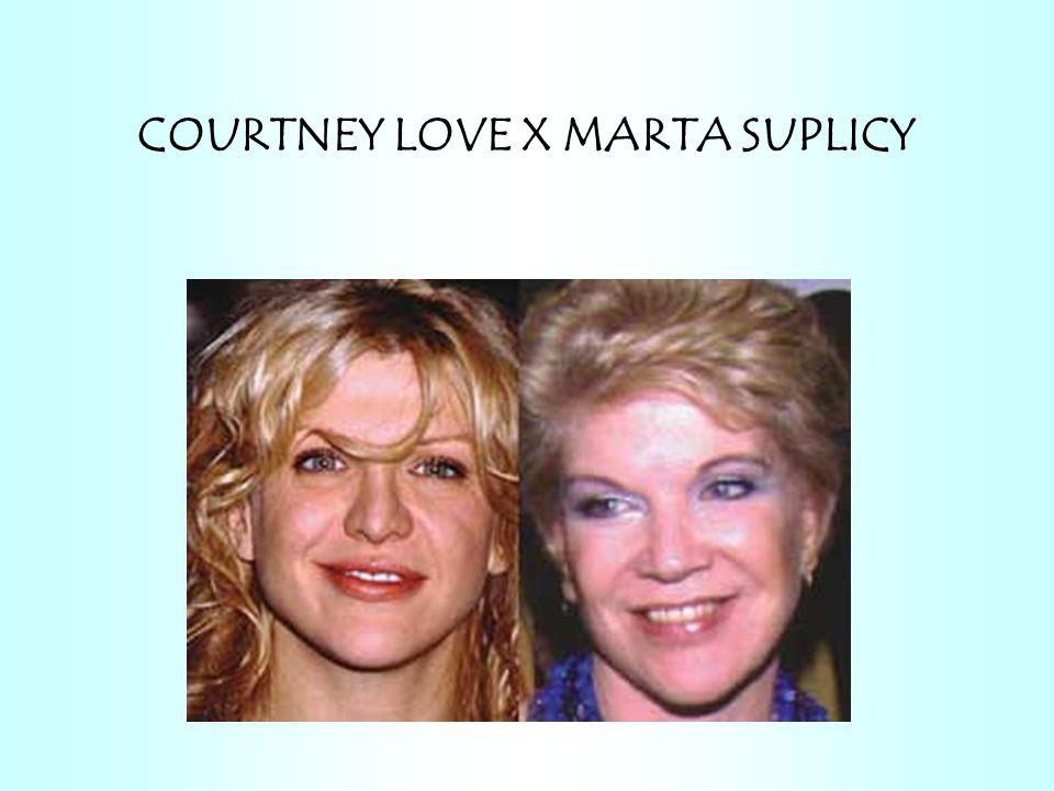 COURTNEY LOVE X MARTA SUPLICY