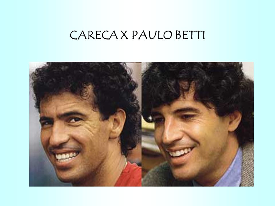 CARECA X PAULO BETTI