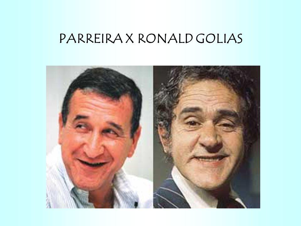 PARREIRA X RONALD GOLIAS