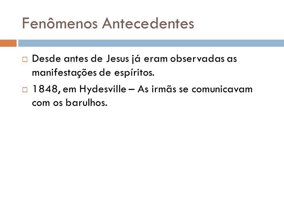 Fenômenos Antecedentes