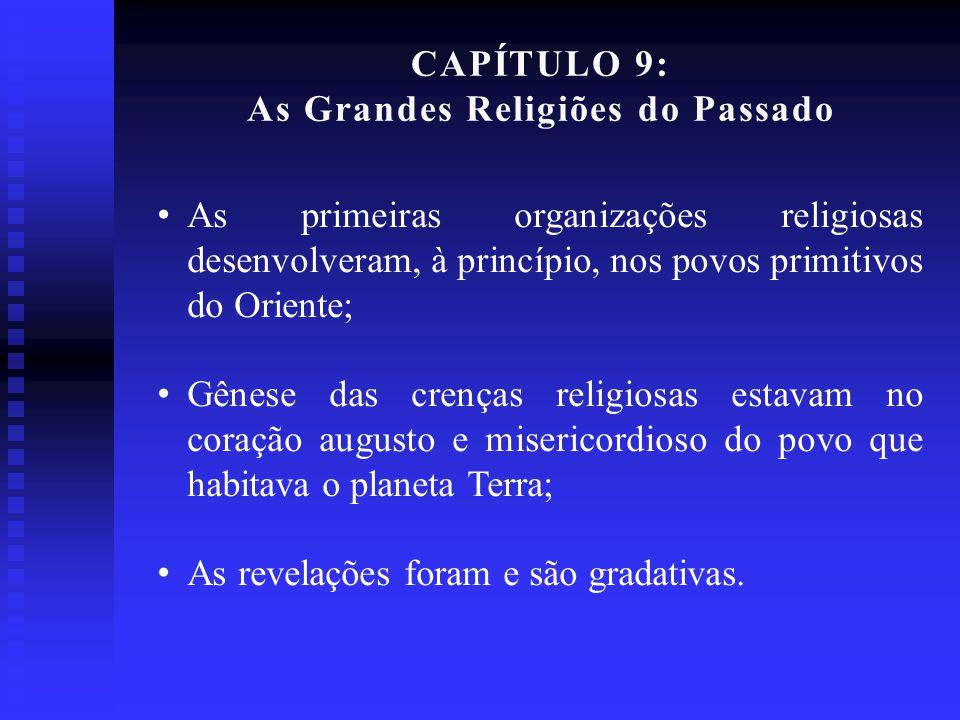 As Grandes Religiões do Passado