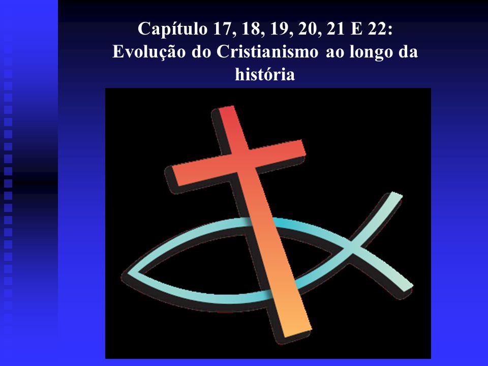 Evolução do Cristianismo ao longo da história