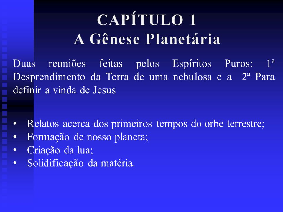 CAPÍTULO 1 A Gênese Planetária