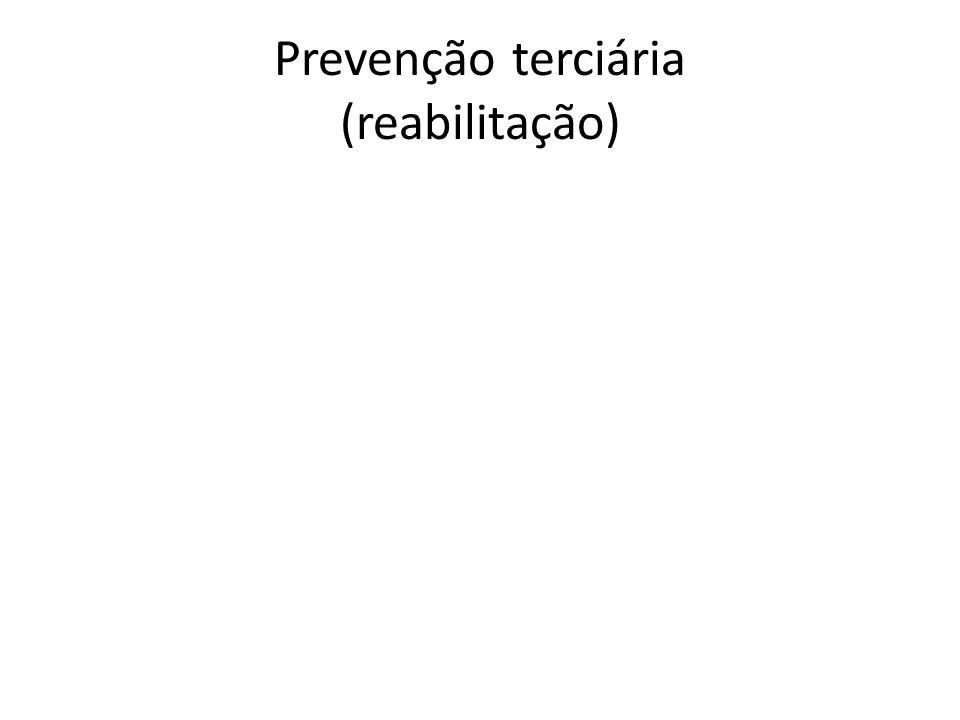 Prevenção terciária (reabilitação)