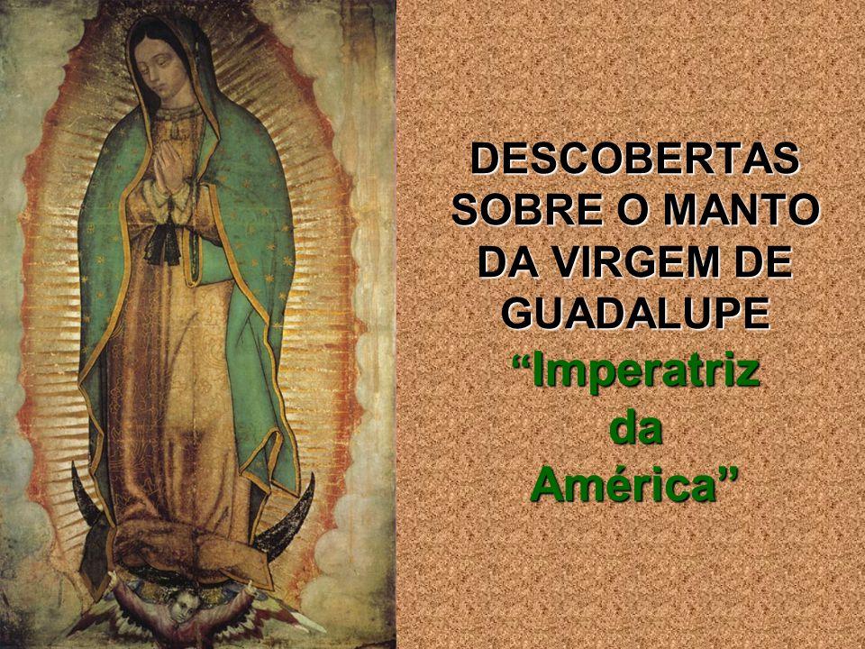 DESCOBERTAS SOBRE O MANTO DA VIRGEM DE GUADALUPE Imperatriz da América