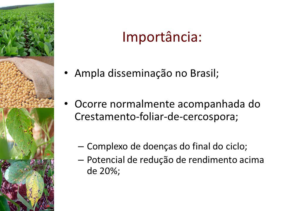 Importância: Ampla disseminação no Brasil;