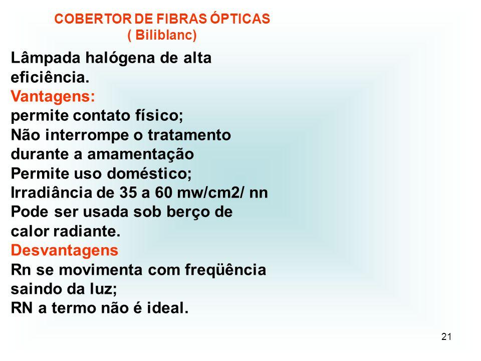 COBERTOR DE FIBRAS ÓPTICAS ( Biliblanc)