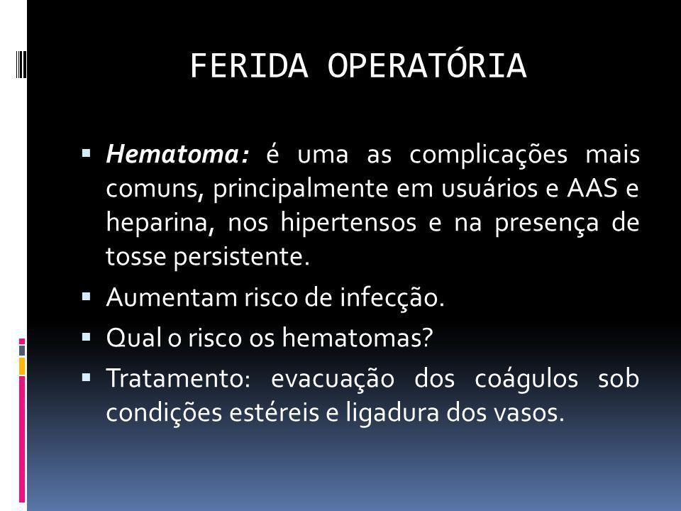 FERIDA OPERATÓRIA