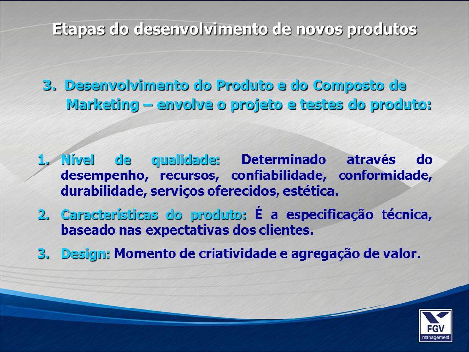Etapas do desenvolvimento de novos produtos