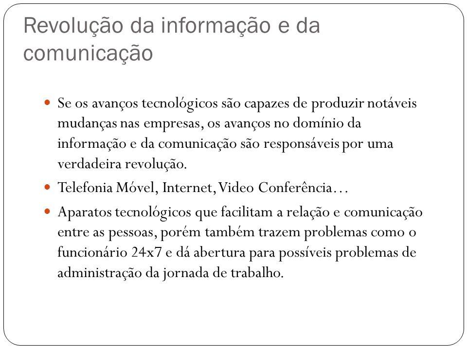 Revolução da informação e da comunicação