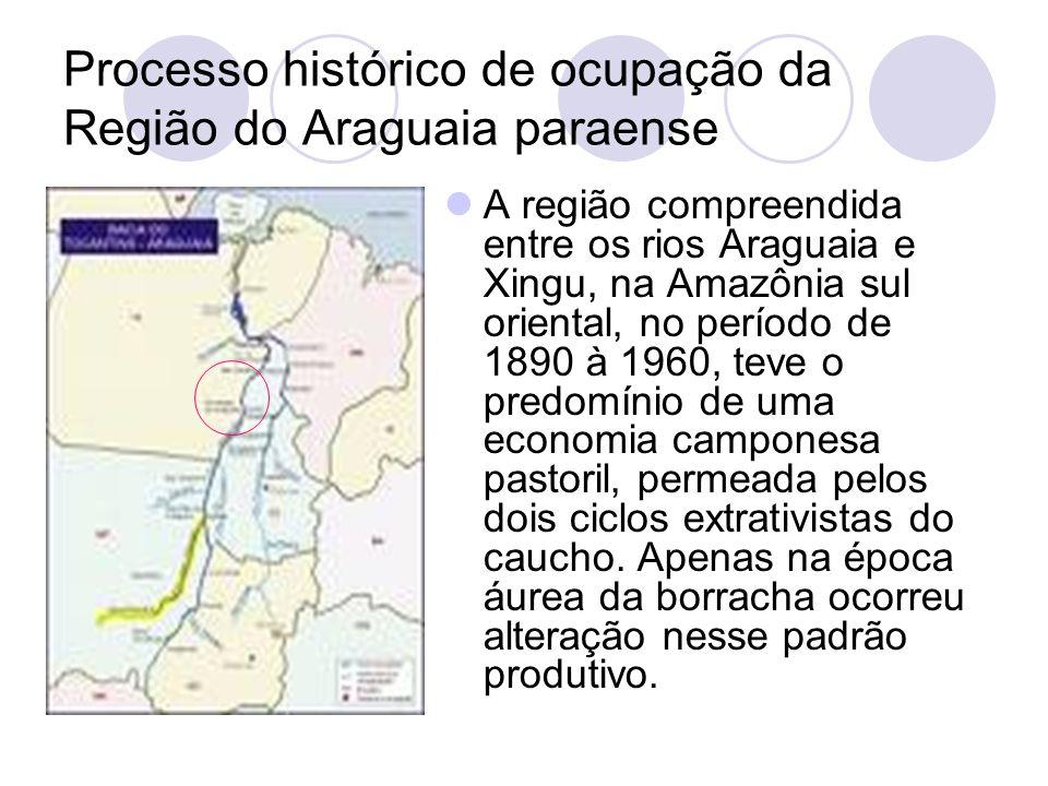 Processo histórico de ocupação da Região do Araguaia paraense