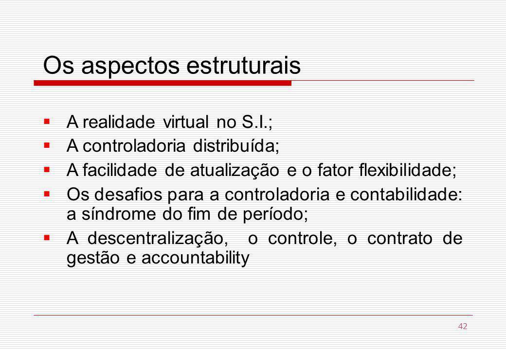 Os aspectos estruturais