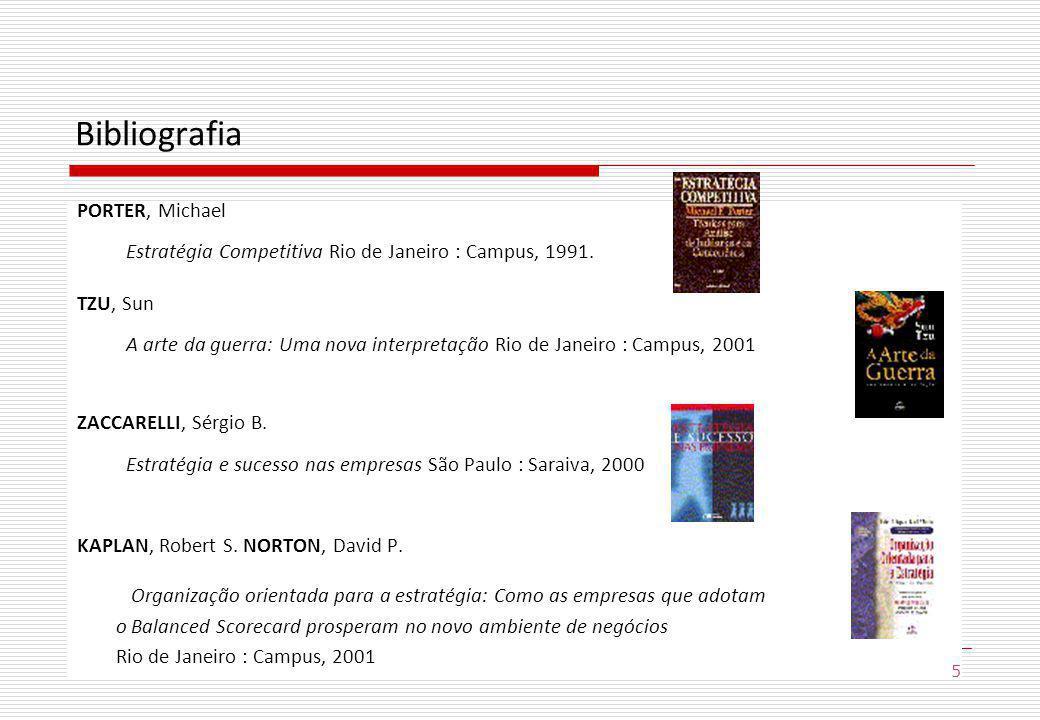 Bibliografia PORTER, Michael