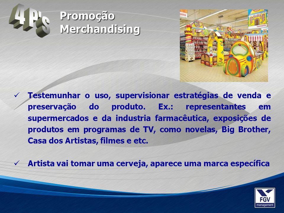 4 P s Promoção Merchandising