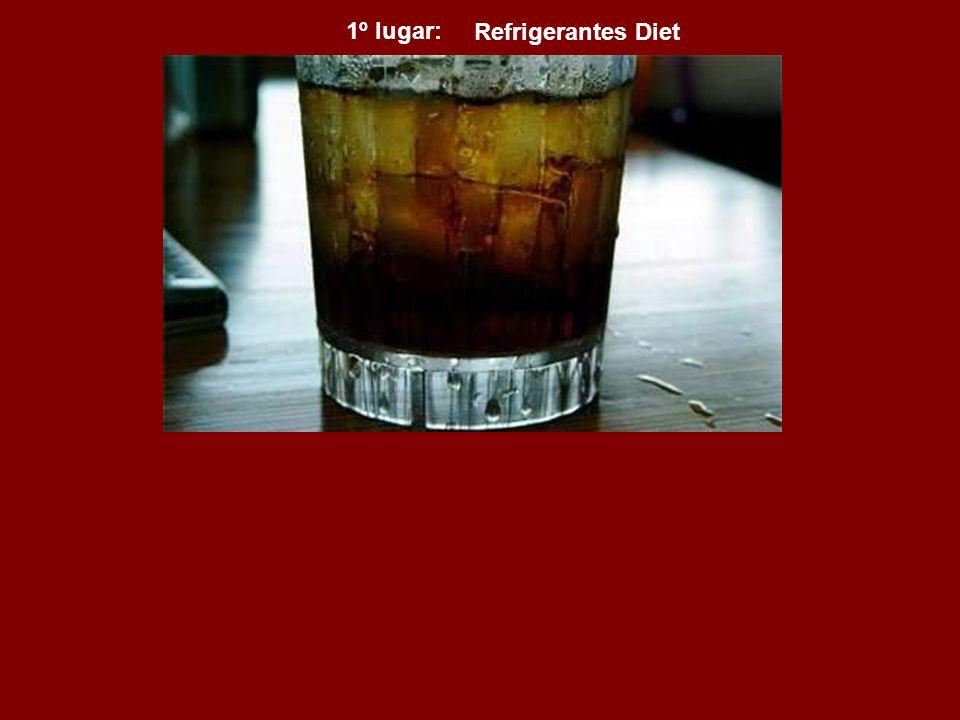 1º lugar: Refrigerantes Diet