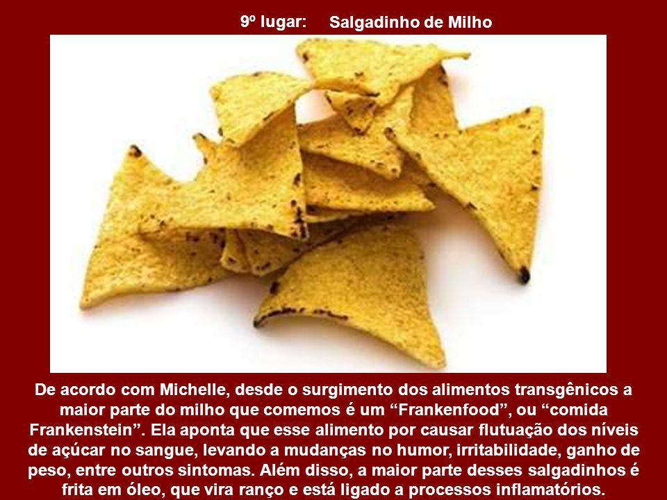 9º lugar: Salgadinho de Milho.