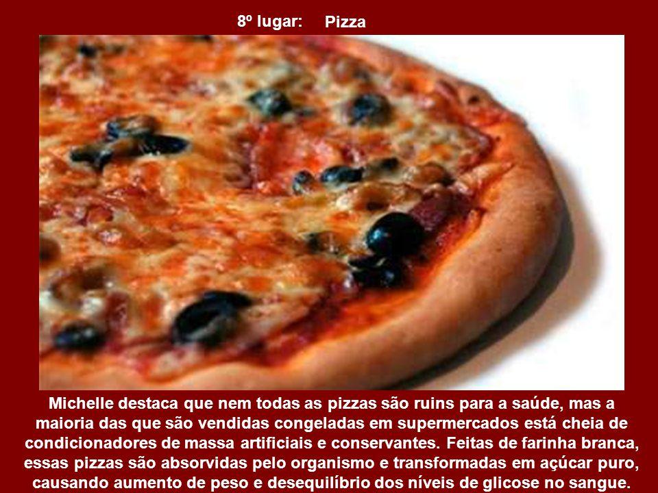 8º lugar: Pizza.