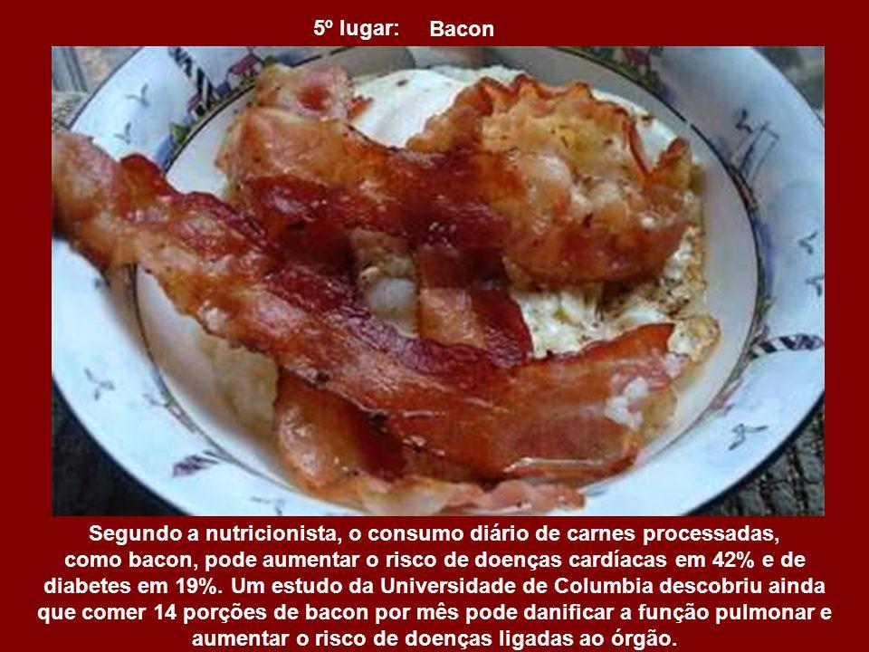 Segundo a nutricionista, o consumo diário de carnes processadas,
