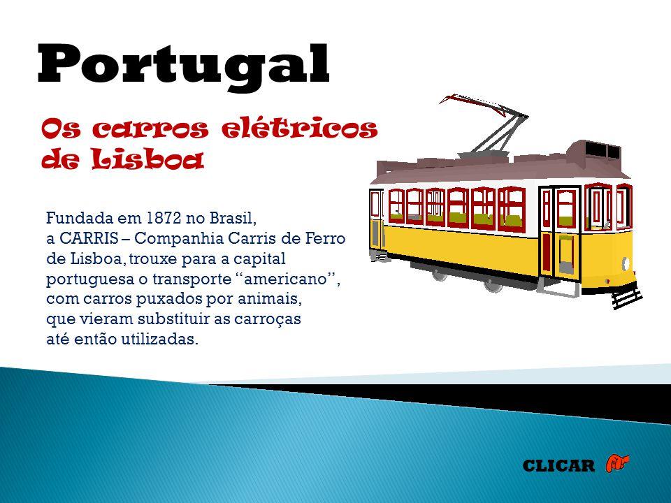 Portugal Os carros elétricos de Lisboa
