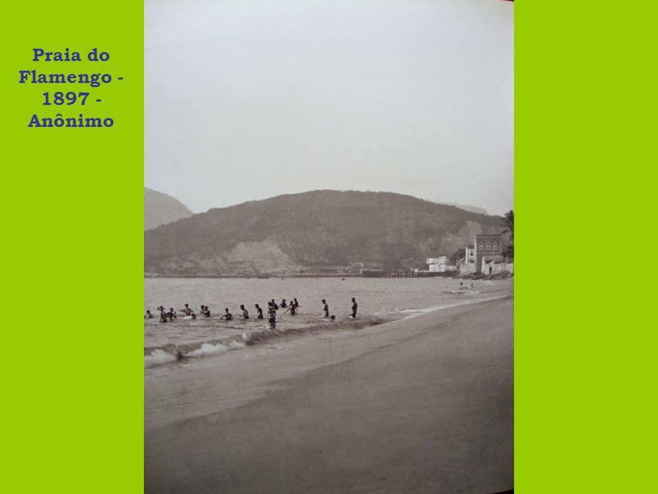 Praia do Flamengo - 1897 - Anônimo
