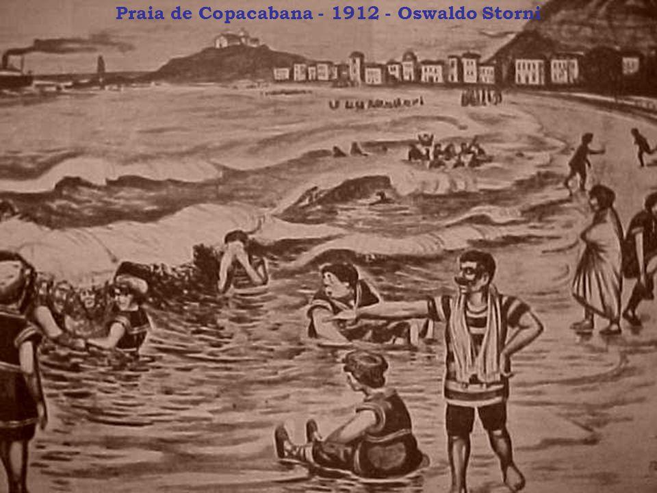 Praia de Copacabana - 1912 - Oswaldo Storni