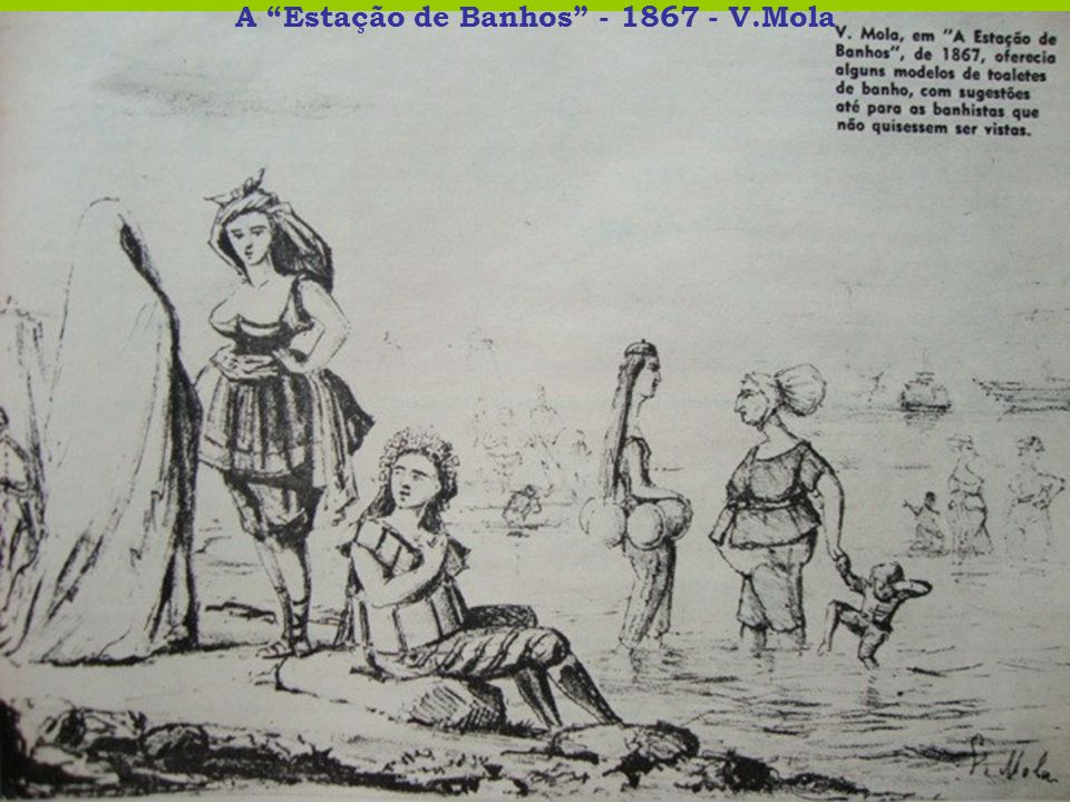 A Estação de Banhos - 1867 - V.Mola