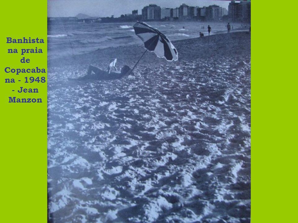 Banhista na praia de Copacabana - 1948 - Jean Manzon