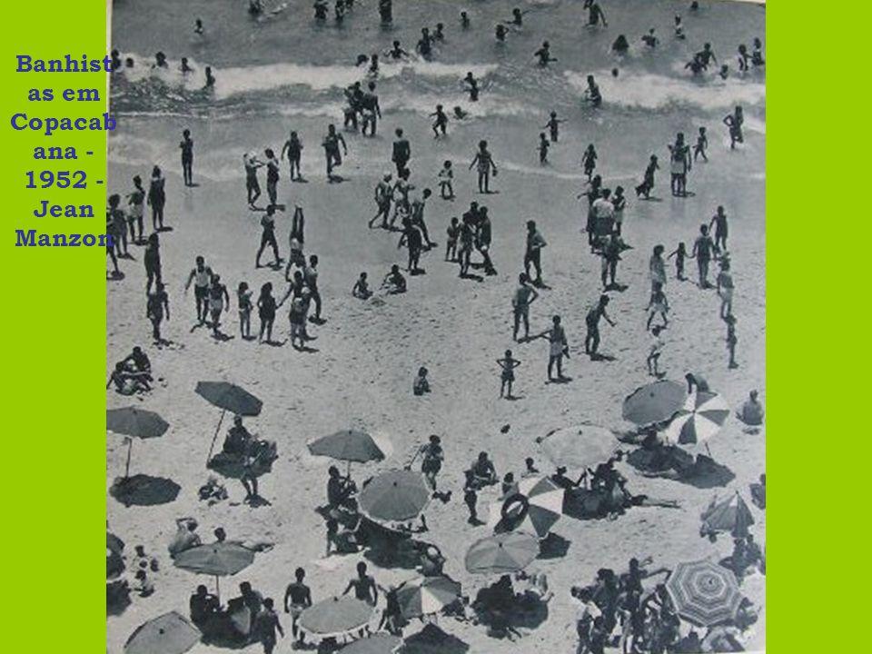Banhistas em Copacabana - 1952 - Jean Manzon