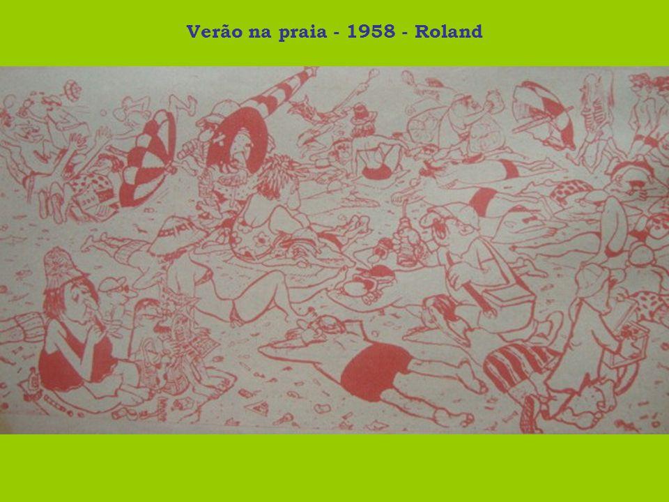 Verão na praia - 1958 - Roland