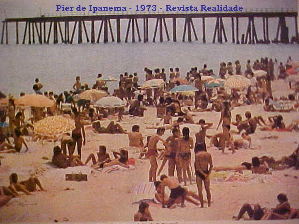 Píer de Ipanema - 1973 - Revista Realidade