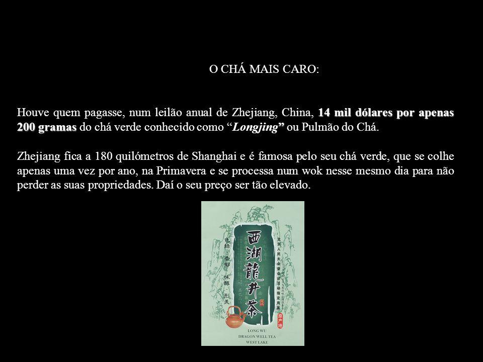 Un hombre chino paga 14,000 dólares por simplemente 200 gramos de té verde.