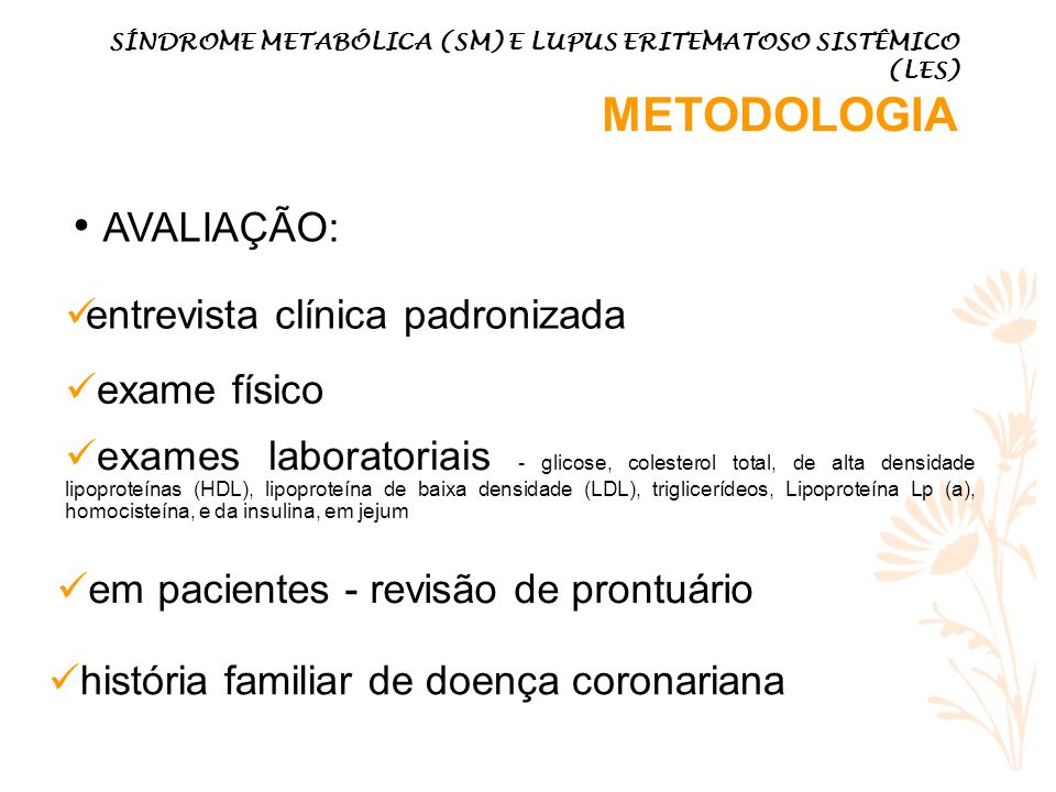 AVALIAÇÃO: entrevista clínica padronizada exame físico