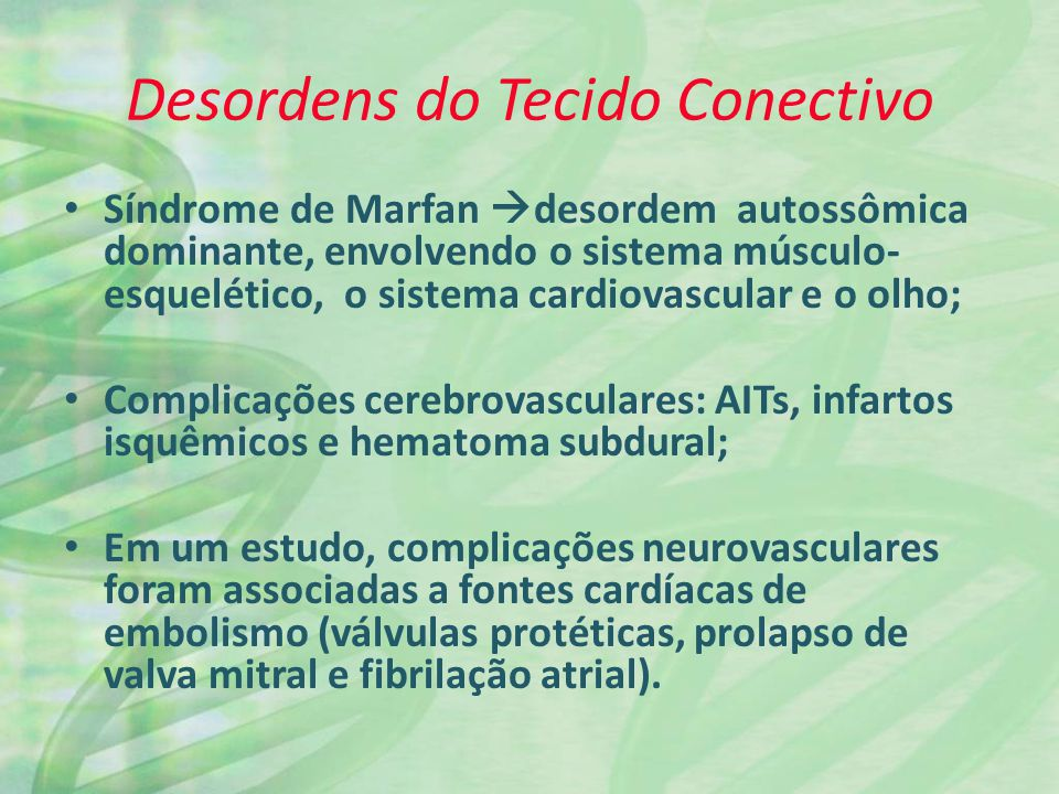 Desordens do Tecido Conectivo