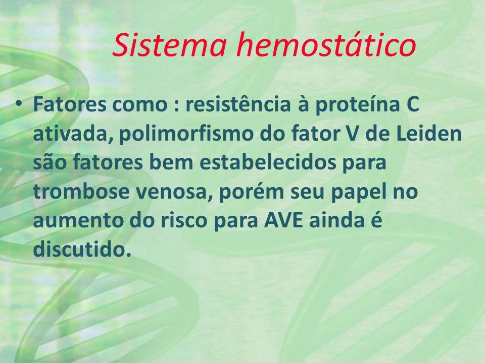 Sistema hemostático