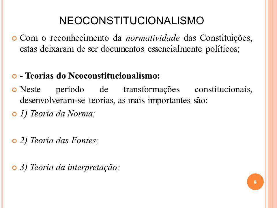 NEOCONSTITUCIONALISMO