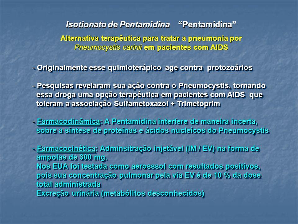 Alternativa terapêutica para tratar a pneumonia por