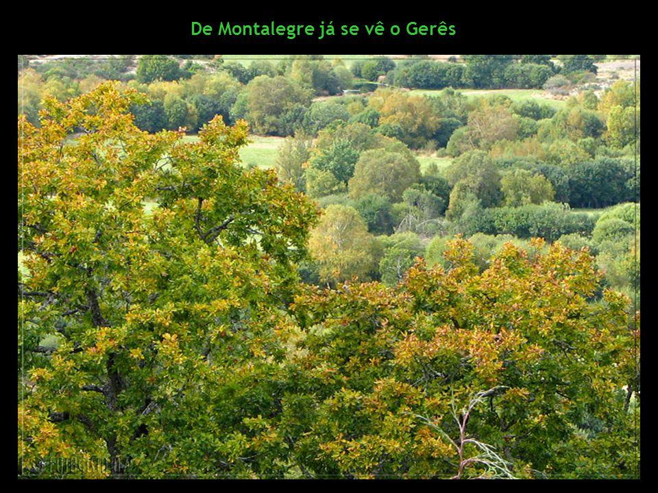 De Montalegre já se vê o Gerês