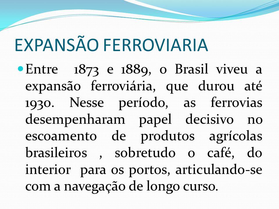 EXPANSÃO FERROVIARIA