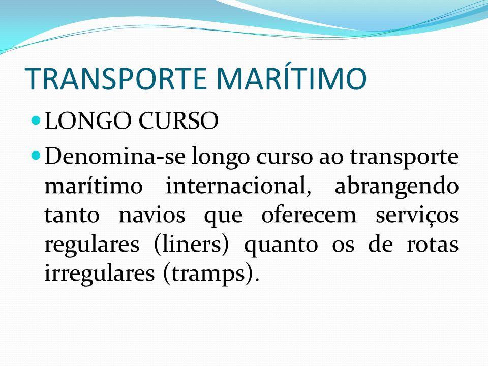 TRANSPORTE MARÍTIMO LONGO CURSO