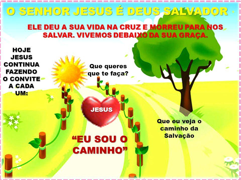 O SENHOR JESUS É DEUS SALVADOR