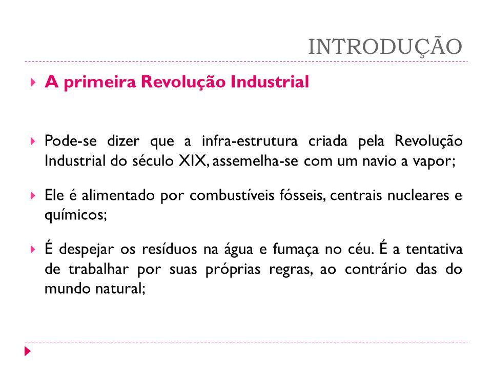 INTRODUÇÃO A primeira Revolução Industrial